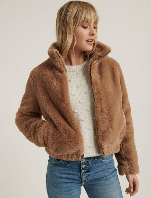 FAUX FUR JACKET,