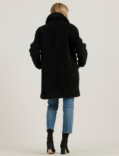 TEDDY COAT, 001 LUCKY BLACK