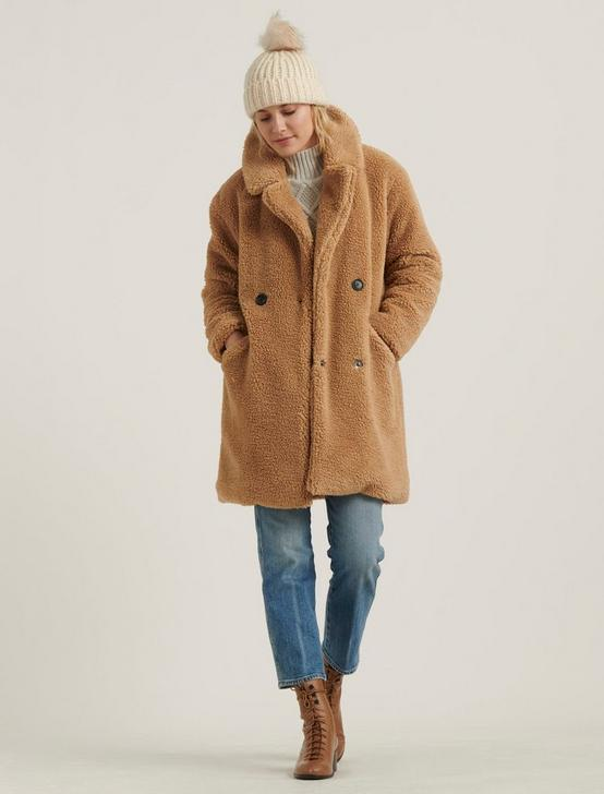 TEDDY COAT, 231 TAN, productTileDesktop