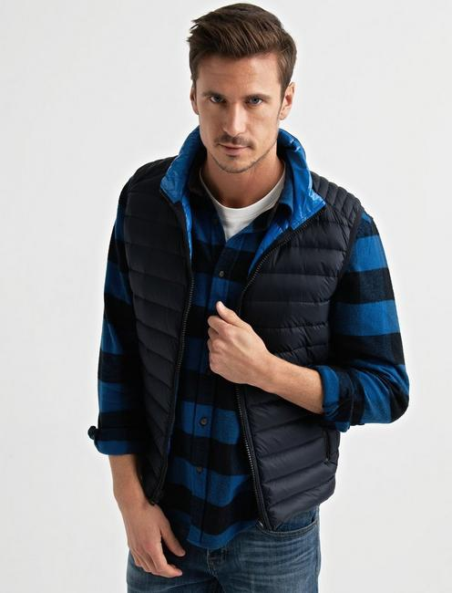 PUFFER VEST, MIDNIGHT