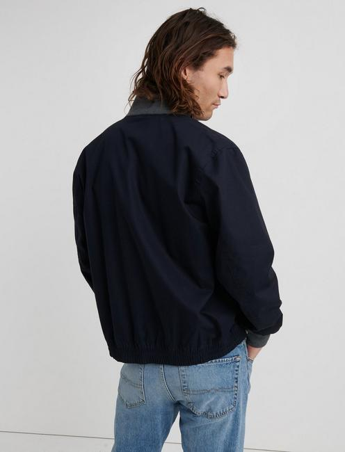 BOMBER JACKET, #437 NAVY