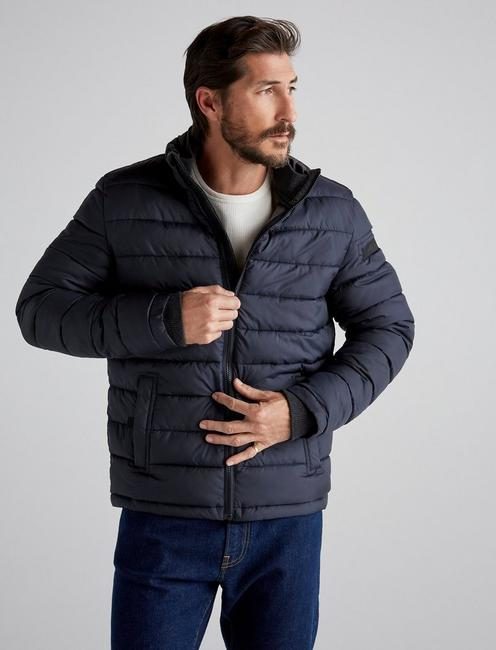 Quilted Puffer Jacket,