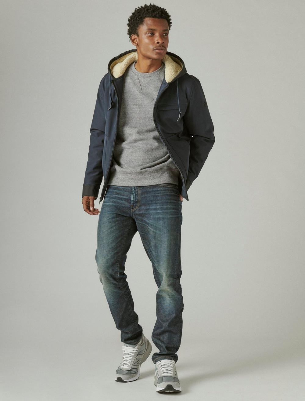 SHERPA LINED HOODED BOMBER, image 2