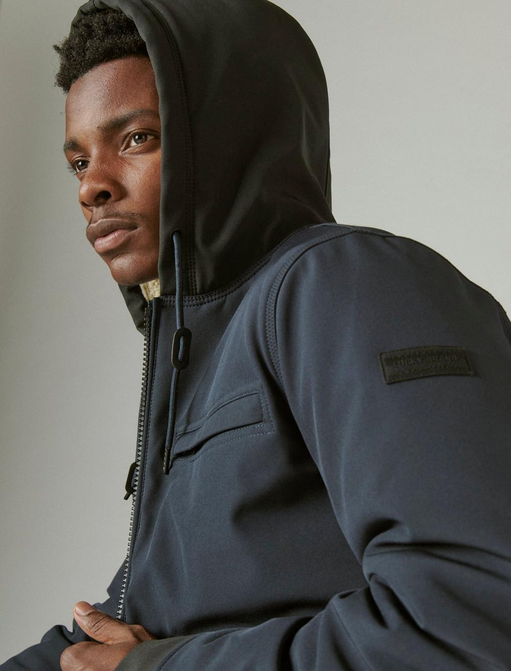 SHERPA LINED HOODED BOMBER, image 5