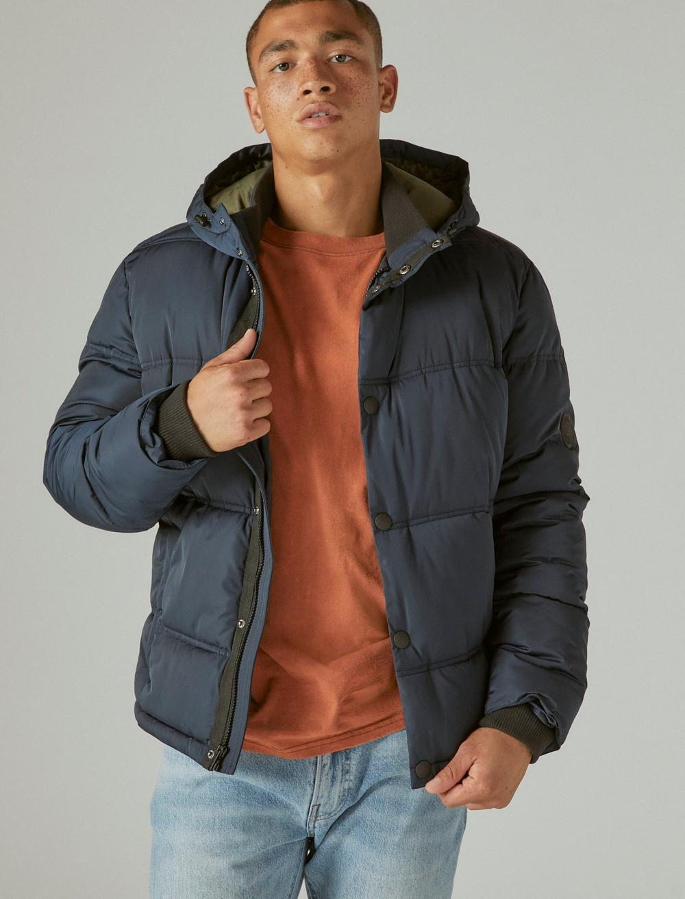 POLY TWILL HOODED HIPSTER JACKET, image 1