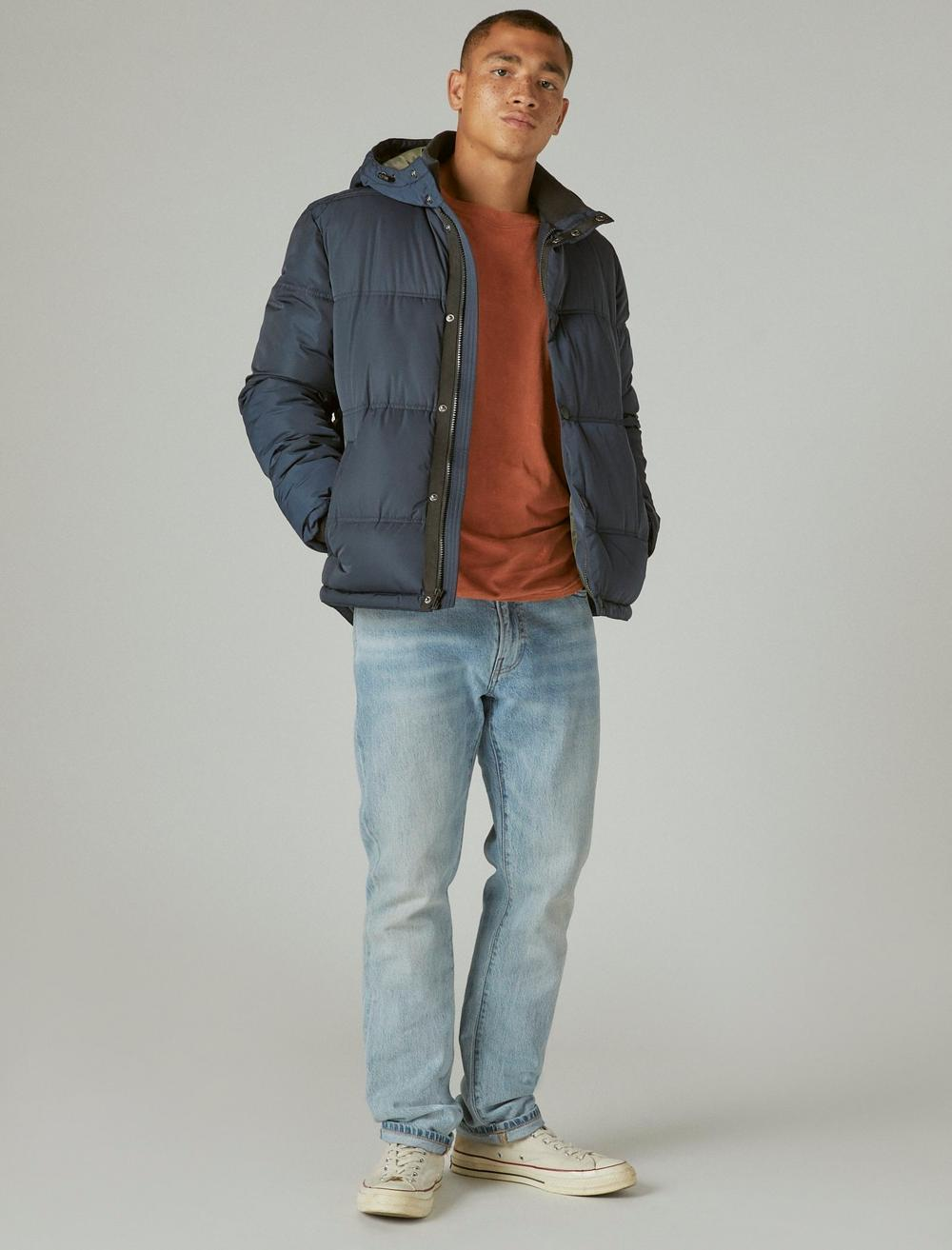 POLY TWILL HOODED HIPSTER JACKET, image 2
