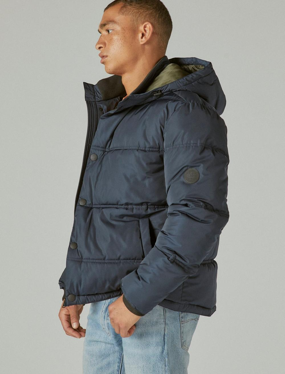 POLY TWILL HOODED HIPSTER JACKET, image 3