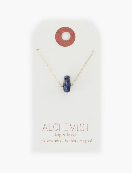 Britta Ambauen Alchemist Lapis Necklace, GOLD, productTileDesktop