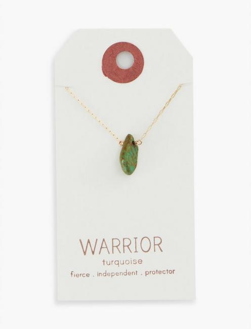 Britta Ambauen Warrior Turquoise Necklace,