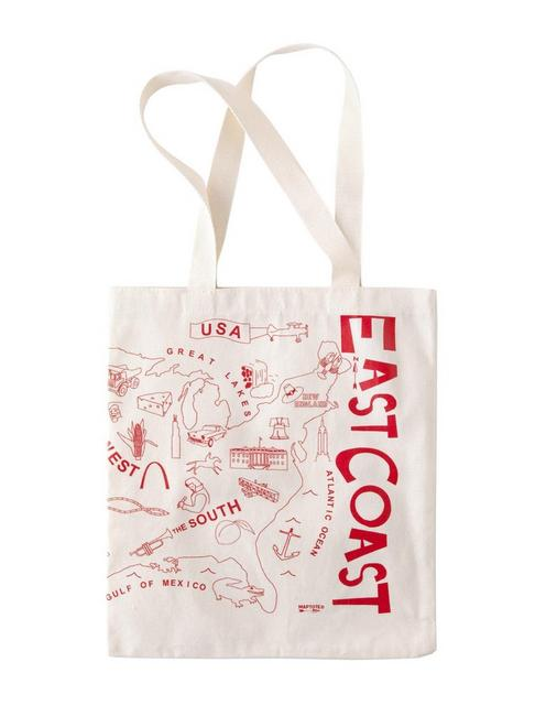 Maptote East Coast West Coast Tote,