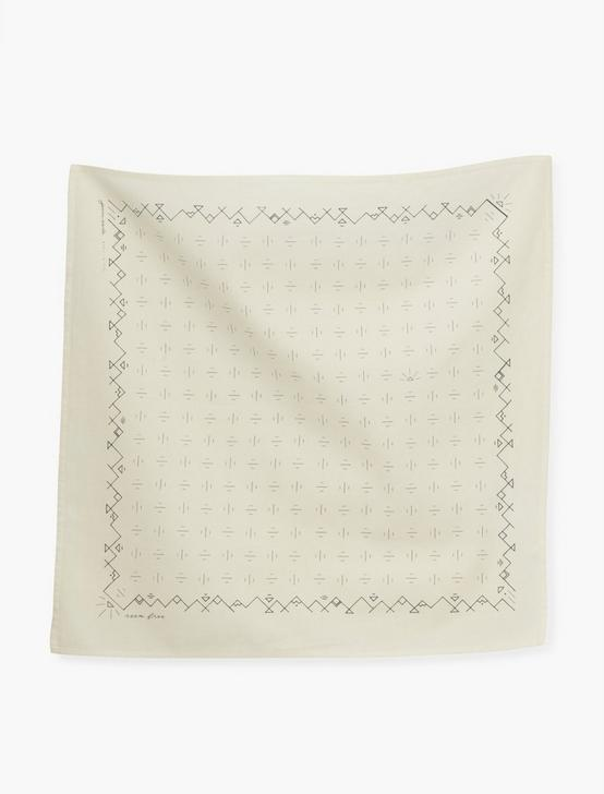 Jenni Earle Roam Free Bandana, LIGHT BEIGE, productTileDesktop