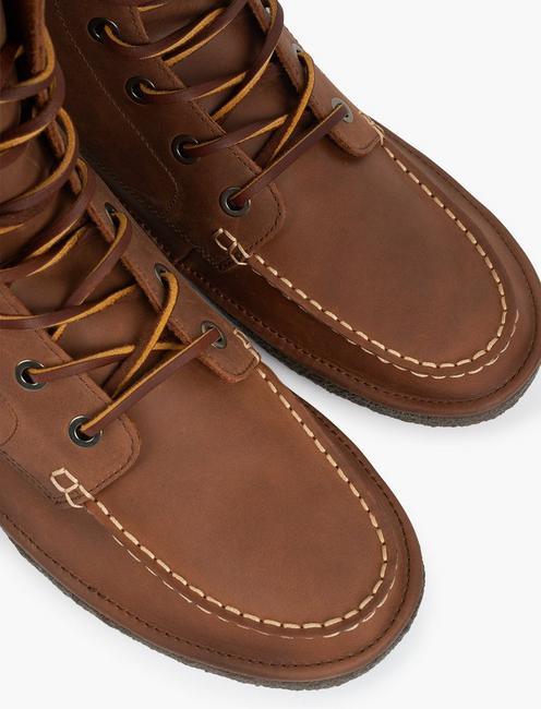 7 EYE TRAIL BOOTS, WALNUT