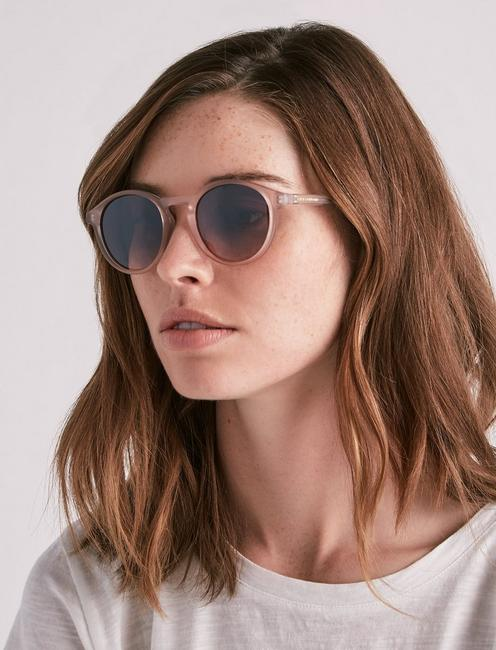 BALDWIN SUNGLASSES, LIGHT PINK