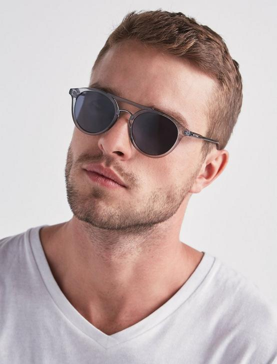 DUMONT SUNGLASSES, LIGHT GREY, productTileDesktop