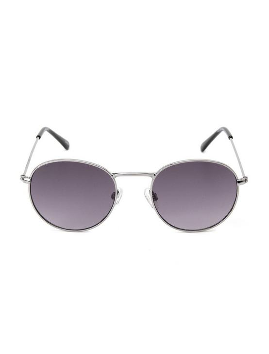 COLTON WIRE SUNGLASSES, SILVER, productTileDesktop
