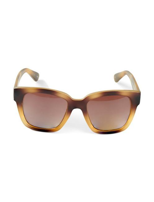 SYCAMORE SUNGLASSES, LIGHT BROWN