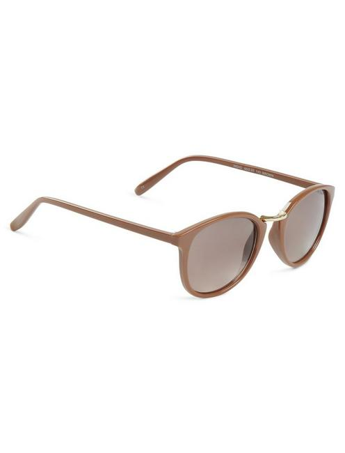 INDIO SUNGLASSES, LIGHT BROWN
