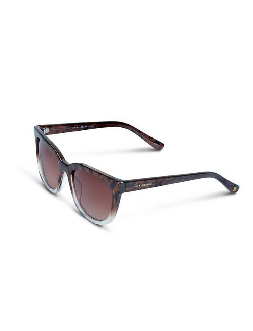 NEWBERRY SUNGLASSES, LIGHT BROWN