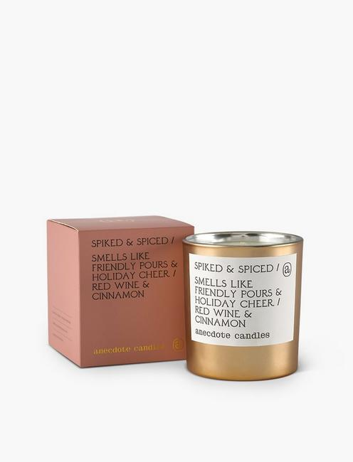 Anecdote Candles Spiked and Spiced Gold Tumbler,