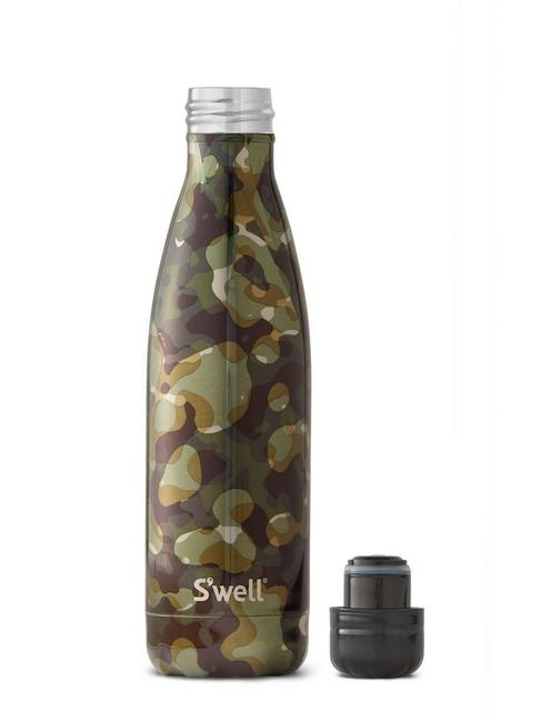 S'WELL INCOGNITO BOTTLE, DARK GREEN