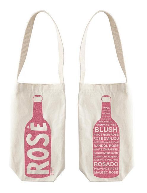 Maptote Wine Tote, OPEN BROWN/RUST