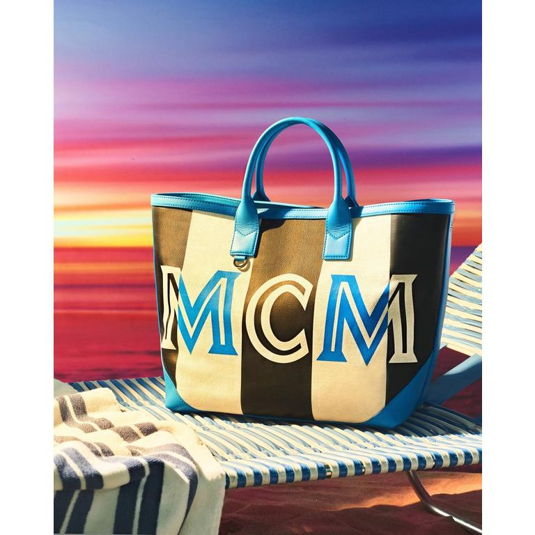 MCM Ilse Shopper in Canvas