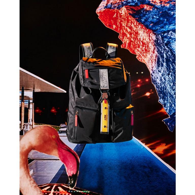 Resnick Two Pocket Backpack in Monogram NylonAdd to Wishlist