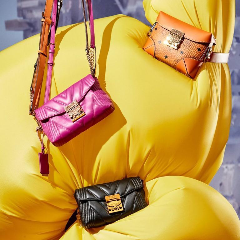 Multifunction convertible bags ft. soft berlin and cognac visetos belt bags and crossbody