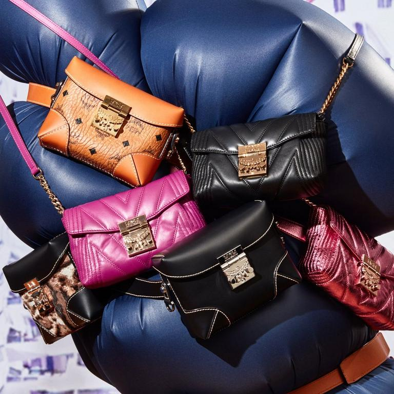 quilted berlin crossbody bags and cognac visetos belt bag