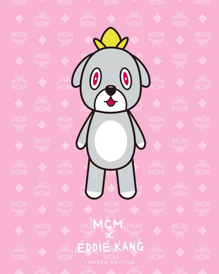 MCM x EDDIE KANG 标志性吉祥物