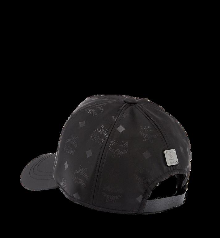 MCM 字母组合图案尼龙经典帽 Black MEC7AMM01BK001 Alternate View 2