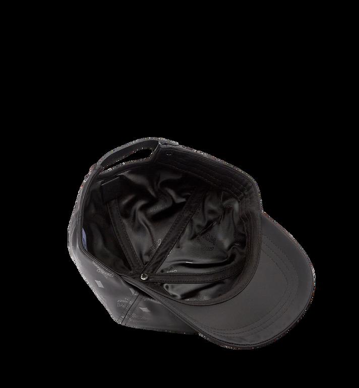 MCM 字母组合图案尼龙经典帽 Black MEC7AMM01BK001 Alternate View 3