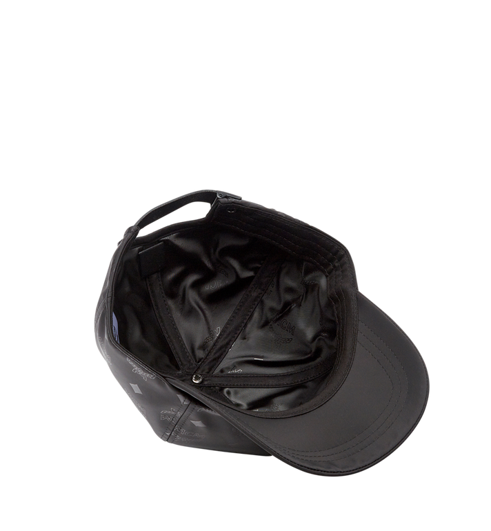 MCM Classic Cap in Monogram Nylon Black MEC7AMM01BK001 Alternate View 3