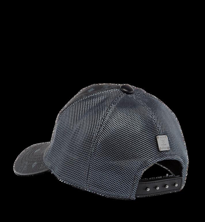 MCM Klassische Kappe aus Netzmaterial in Visetos Black MEC7S2K10BK001 Alternate View 2
