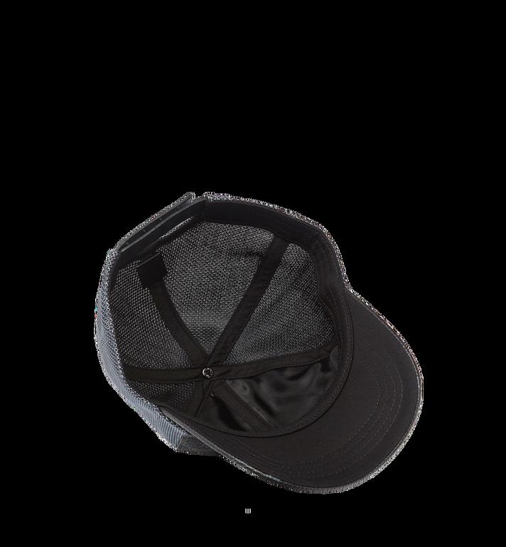 MCM Klassische Kappe aus Netzmaterial in Visetos Black MEC7S2K10BK001 Alternate View 3