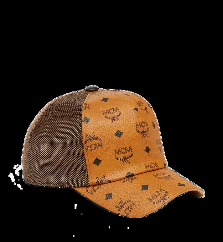 MCM Klassische Kappe aus Netzmaterial in Visetos Alternate View