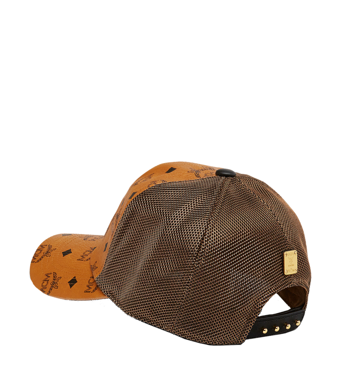 b22df85c613 Mcm Visetos Canvas Mesh Baseball Cap In Brown