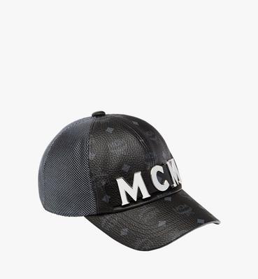 MCM Letter Visetos Wool Cap