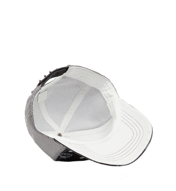 MCM Klassische Kappe aus Netzmaterial in Visetos Black MEC8S2K01BV001 Alternate View 3