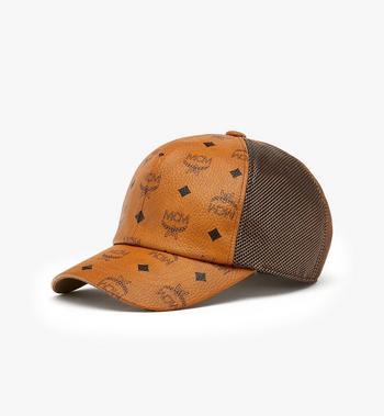 MCM Visetos 經典網紗棒球帽 Cognac MEC9A2K10CO001 Alternate View 2
