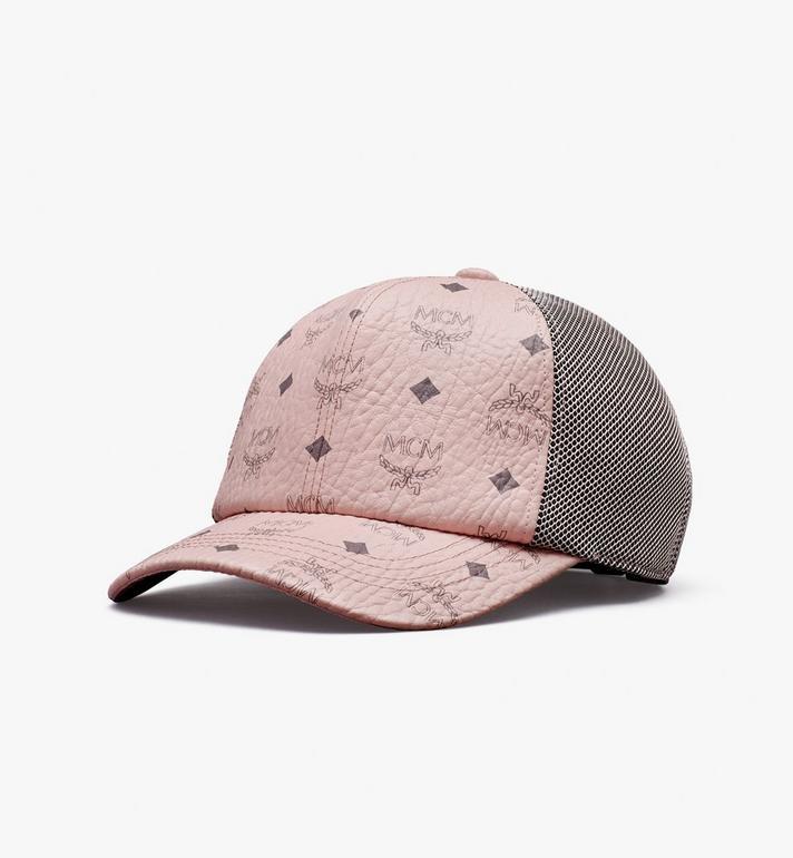 MCM หมวกแก็ปคลาสสิกติดตาข่ายลาย Visetos Alternate View