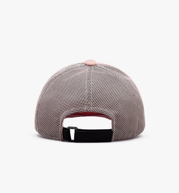 MCM หมวกแก็ปคลาสสิกติดตาข่ายลาย Visetos  MEC9A2K10QH001 Alternate View 2