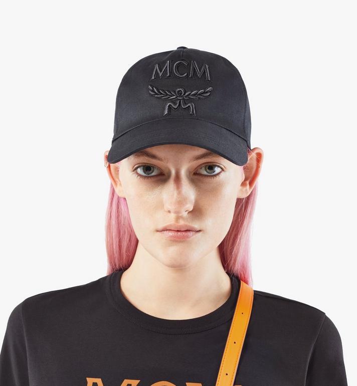 MCM Classic Logo Cap Black MECAAMM01BK001 Alternate View 5