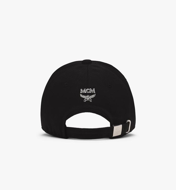 MCM Half Logo Cap Black MECASMM02BK001 Alternate View 2