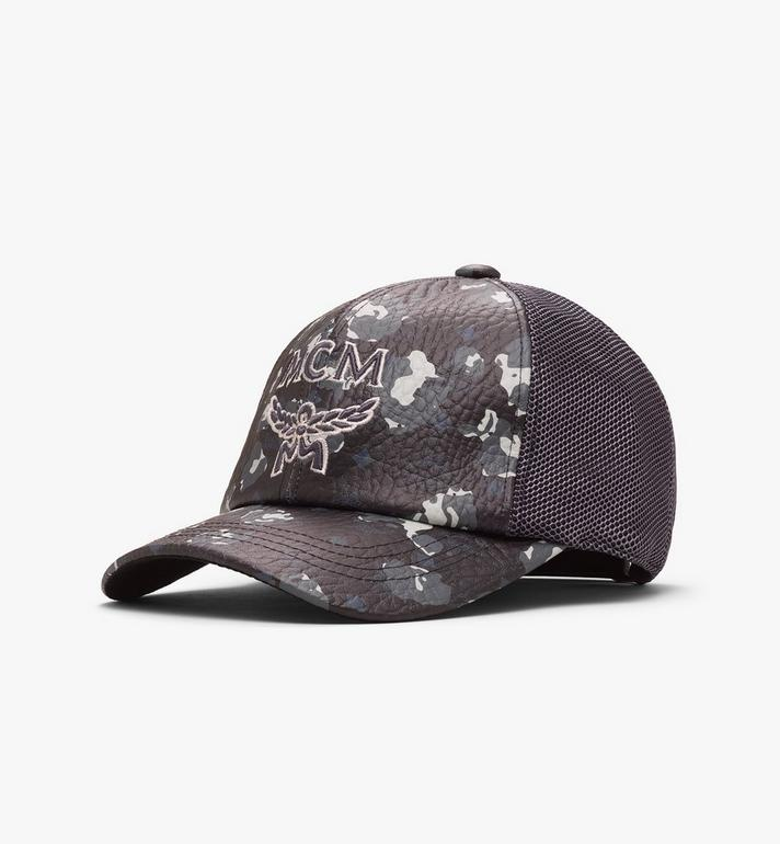 MCM Floral Leopard Mesh Cap Alternate View