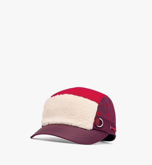 หมวกแก๊ป Camp Cap ขนสัตว์เทียม