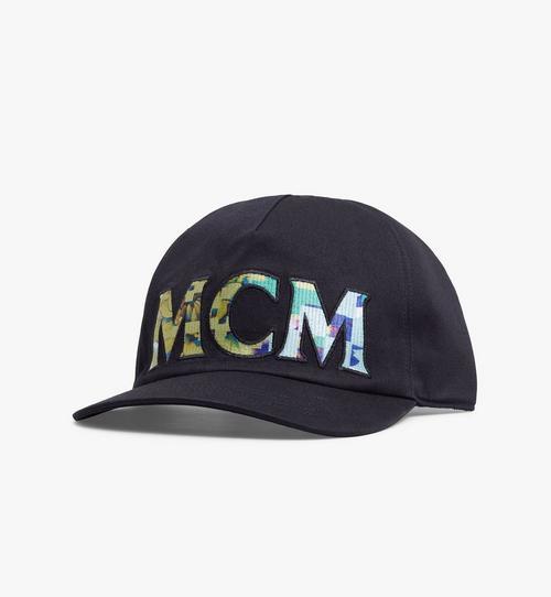 หมวกแก๊ปลาย Tech Flower ผ้าฝ้ายพิมพ์โลโก้