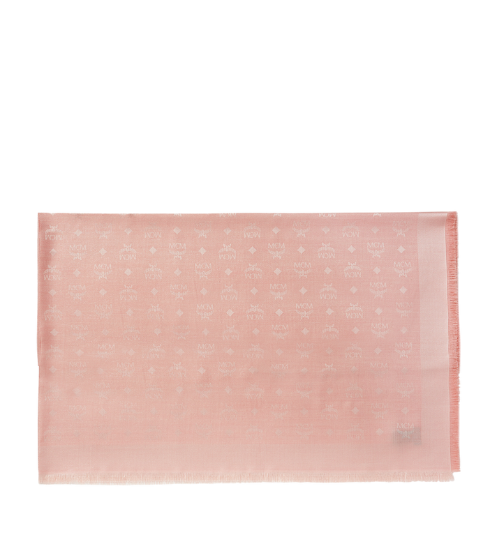 MCM Monogram Lurex Scarf Pink MEF7AMM02PK001 Alternate View 2