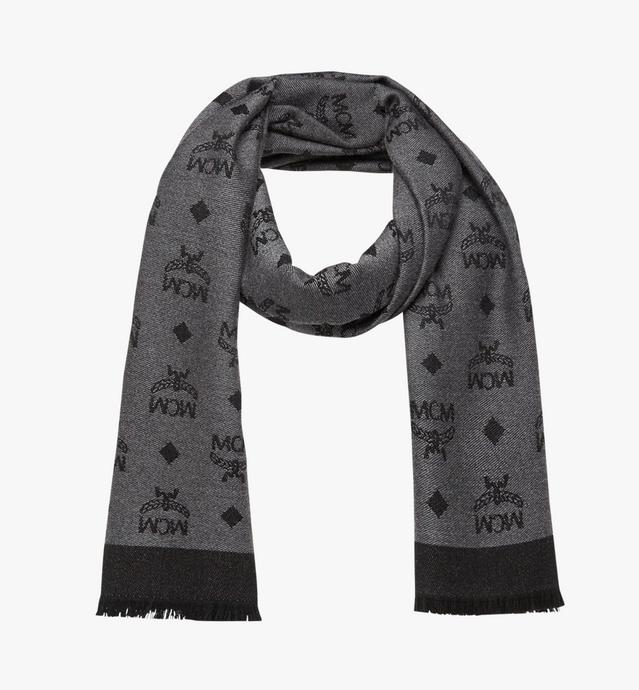 Monogram Jacquard Scarf in Wool