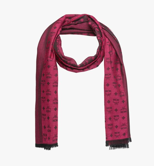 Bi-Color Monogram Jacquard Stole